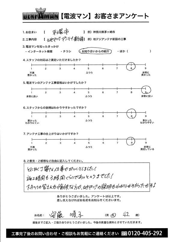 平塚市安藤さま